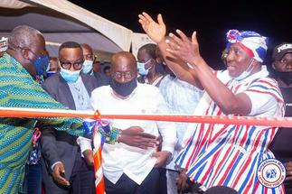 The Alexander Kwamena Afenyo-Markin Effect Was On Display In Effutu When President Akufo-Addo Visited Winneba