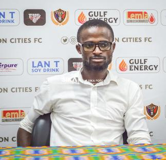 Ignatius Osei Fosu set to be appointed as Legon Cities coach