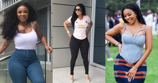 Serwaa Amihere Shows off her new look in Beautiful photo; fans Shout