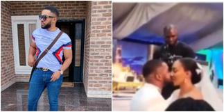 Actor Williams Uchemba Gets Married to his Bride Brunella in Church