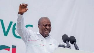 Mahama Rounds Up Campaign With Rally In Accra