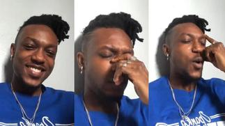 Dadie Opanka breaks down into tears during freestyle about trying times [ARTICLE]