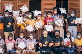 BRAVE and Sincerëly partner to tackle period poverty in Ghana