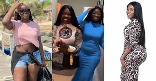 Adwoa Frimpong: Fella Makafui Chills Medikal's Sister on her Birthday