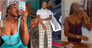 Saahene Osei: Despite's 18-year-old Son Flaunts Girlfriend in Photos