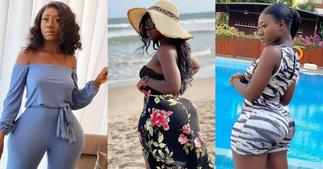 Hajia Bintu Shares Teen Photo to Prove Her Backside Is Not Fake