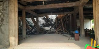 Accra: Two injured after building collapse at Adabraka