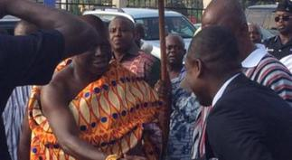Abeiku Santana reveals what Otumfuo told him after a rare handshake [ARTICLE]