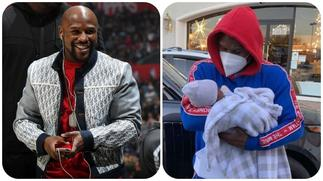 Floyd Mayweather Spotted Rocking Grandchild in His Arms 1st Time
