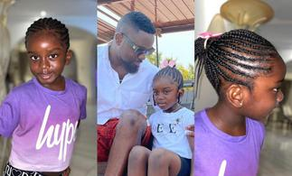 Sarkodie's Daughter Titi Cease Attention With Her New Look » GhBasecom™