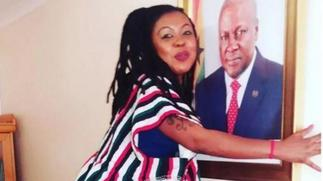 Mzbel visited Naae We on behalf of John Mahama