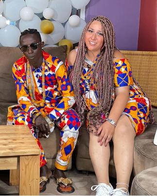 Patapaa's Wife Calls Out German Media for Portraying Africans As Jungle Animals