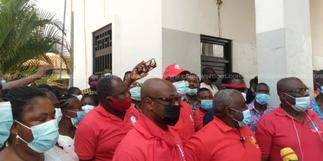 TEWU suspends strike after meeting with government
