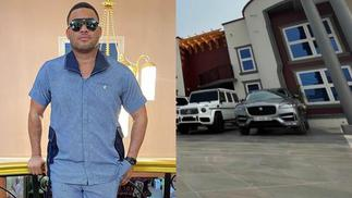 Kwadwo Safo Jnr Advises Fans As He Flaunts His Expensive Cars In His Mansion » GhBasecom™