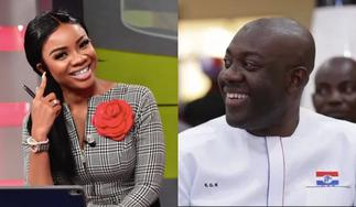 Serwaa Amihere Congratulates Kojo Oppong Nkrumah on his Appointment