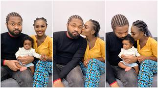 Nigerian Family with Father Wearing Plaited hair Generates Reactions