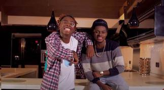 LeFlyyy and Deon Boakye sing for melanins on
