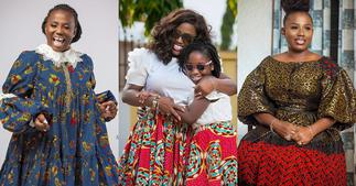 Diana Hamilton: Gospel Singer Twins With Daughter in African Print