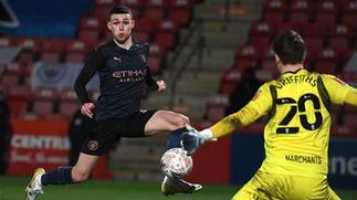 FA Cup: Man City come from behind to beat Cheltenham 3-1 – Citi Sports Online