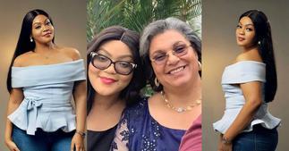 Hannah Tetteh's Daughter Carla Simone Celebrates 26th Birthday (Photos