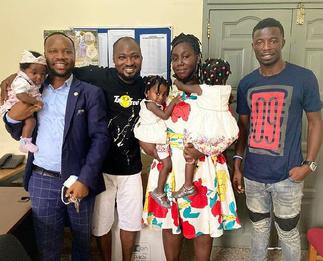 Meet the actor who is behind Funny Face, baby mama and kids reunion