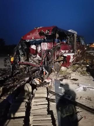 E/R: 16 dead in fatal crash involving two Buses at Akim Asafo