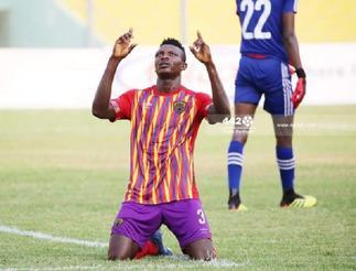 Hearts of Oak striker Victor Aidoo bent on scoring more goals