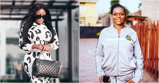 Ayisha Modi Attacks Nana Akua Addo For Badmouthing Her To Kenyan Singer Victoria Kimani ▷ Ghana news