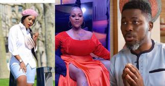 Akosua Vee: Mona Gucci Claims A Plus' wife is stranded in London without rent ▷ Ghana news