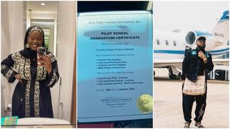 Lady begs Davido to employ her as his pilot, shows off licence, stirs reactions ▷ Ghana news