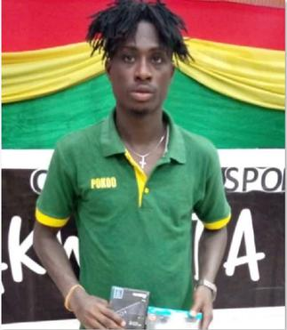 2020/21 GPL: Ebusua Dwarfs' George Asamoah wins MVP award in home win against King Faisal