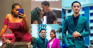 Afia Schwar's Twin Son James Ian Heerdegen And Girlfriend Break Up After Viral Bedroom Photo ▷ Ghana news