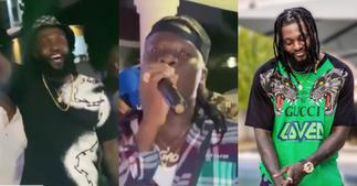 Stonebwoy performs banger at Emmanuel Adebayor's birthday party ▷ Ghana news
