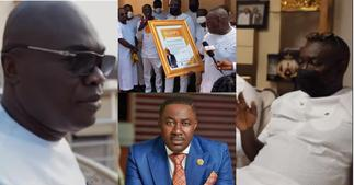Osei Kwame Despite, Ofori Sarpong, others join K Badu at his luxury mansion for his b'day party ▷ Ghana news