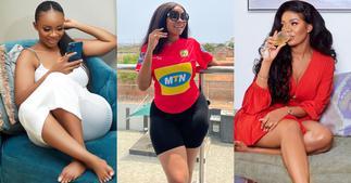 Serwaa Amihere Flaunts Shape In Kotoko Jersey Ahead Of Hearts Of Oak Match; Fans React ▷ Ghana news