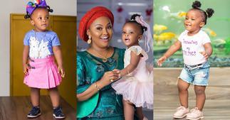 Baby Maxin: Photo of Nana Ama McBrown's Daughter's Kitchen Drops Online ▷ Ghana news
