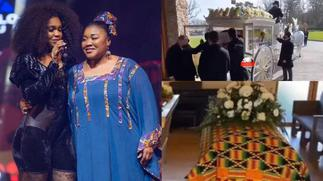 Family of Becca's late mum refuses to acknowledge singer as her daughter at the funeral [ARTICLE]