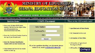 GES announce release of SHS placement and how to go by it amid COVID-19