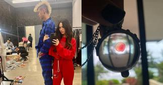 US singer MGK says he wears lover Megan Fox's blood around his neck ▷ Ghana news