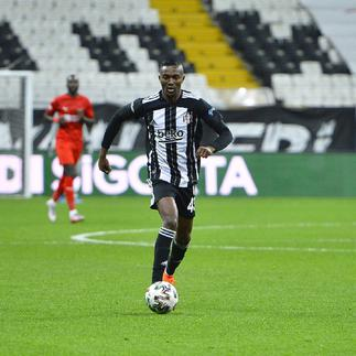 Besiktas yet to make a decision on Bernard Mensah's future at the club