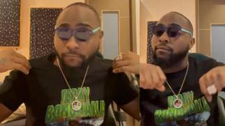 Davido pays homage to Terry Bonchaka with branded T-Shirt [ARTICLE]