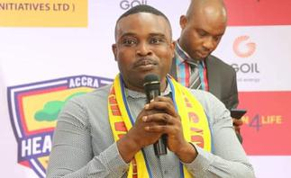 Hearts of Oak supporters chief Elvis Herman Hesse Jr resigns from board