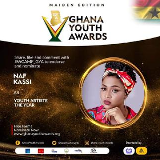 Ghana Youth Awards 21: Naf Kassi bags Artist of the Year nomination