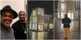 Expensive crib alert: Music mogul Don Jazzy acquires new luxury mansion, dad celebrates ▷ Ghana news