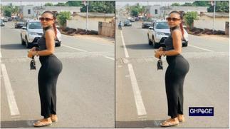 Akuapem Poloo reveals secret behind her new heavy nyash