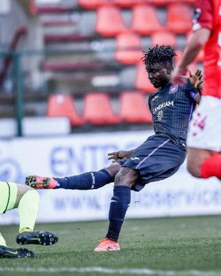 Dauda Mohammed scores first ever goal for Anderlecht