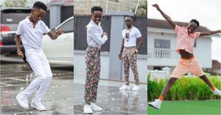 Sir Kwame Bota: Rapper Okyeame Kwame's son Stuns Ghanaians with Rapping Skills ▷ Ghana news