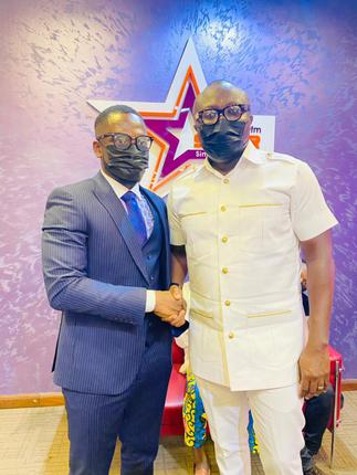 Video: Bola Ray outdoors Foster Aggor as new Starr Drive host