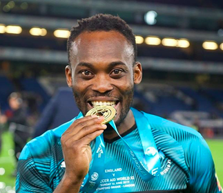 Soft Guy: Michael Essien couldn't stand the heat as he deletes his post supporting LGBT community groups in Ghana » GhBasecom™