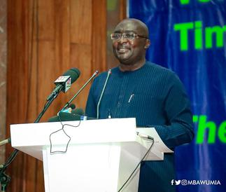 Bawumia engages AfCFTA Secretary-General on Pan-African Payment System